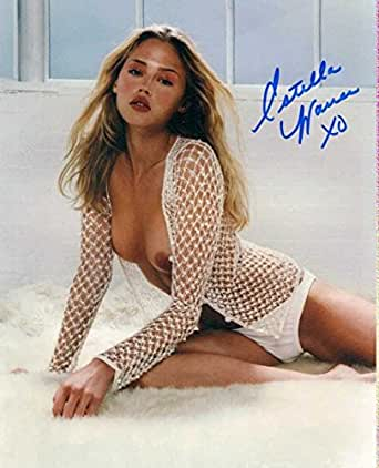 Estella Warren INSANELY SEXY In Person Autographed Photo