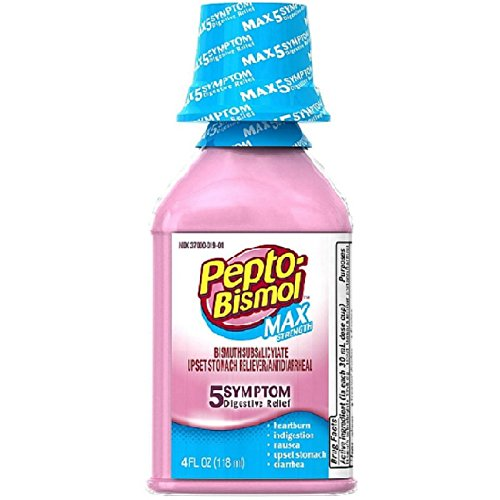 (Pepto Bismol Maximum Strength Cherry Flavor, 4 oz)