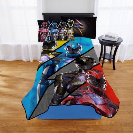 Power Rangers Kids Throw Blanket
