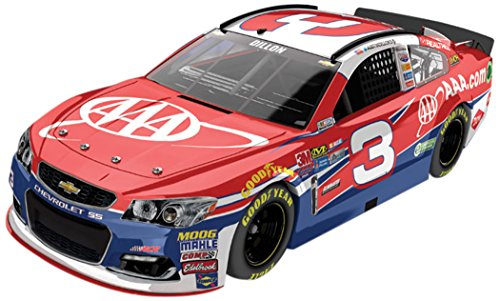 Dillon # 3 AAA 2017 Chevrolet SS 1:24 Scale ARC HO Official Diecast of the Monster Energy NASCAR Cup Series (Ho Scale Roadside)
