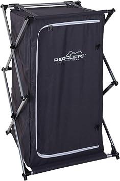 Camping Armario plegable, estantería plegable de armario estantería plegable camping Cocina