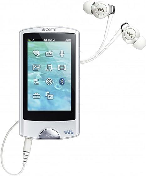 Sony Walkman Nwz A865w Walkman Mp3 Video Player 16gb 7 1 Cm 2 8 Zoll Touchscreen Usb Bluetooth Fm Tuner Weiß Audio Hifi