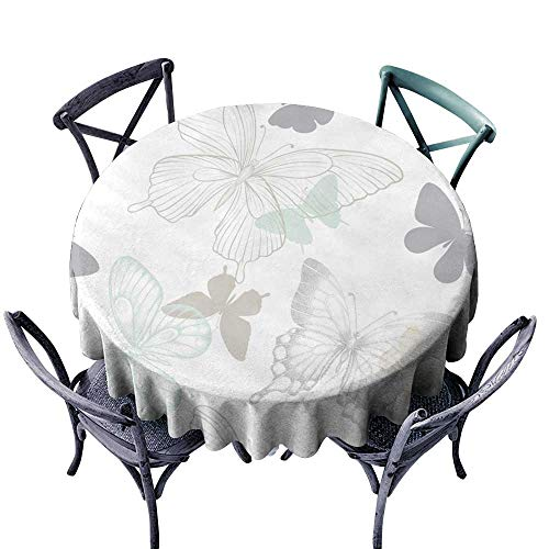 - Spill-Proof Table Cover Seamless Pattern with Decorative Butterflies in Scandinavian Style Design Greeting Card and Invitation of The Wedding Birthday Valentine s Day Mother s Day Spring and Summer h