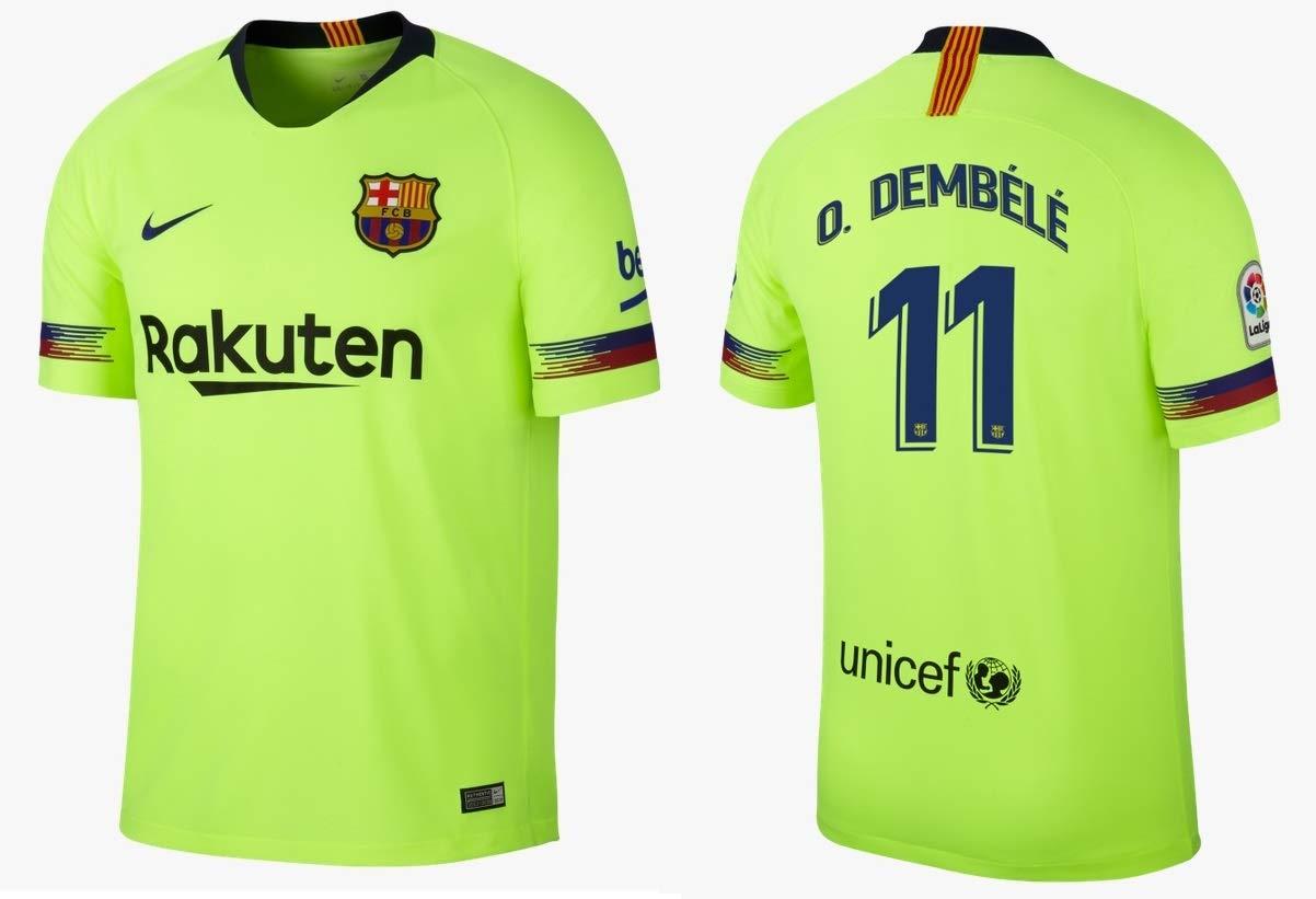 F.C. Barcelona Trikot Kinder 2018-2019 Away - Dembele 11