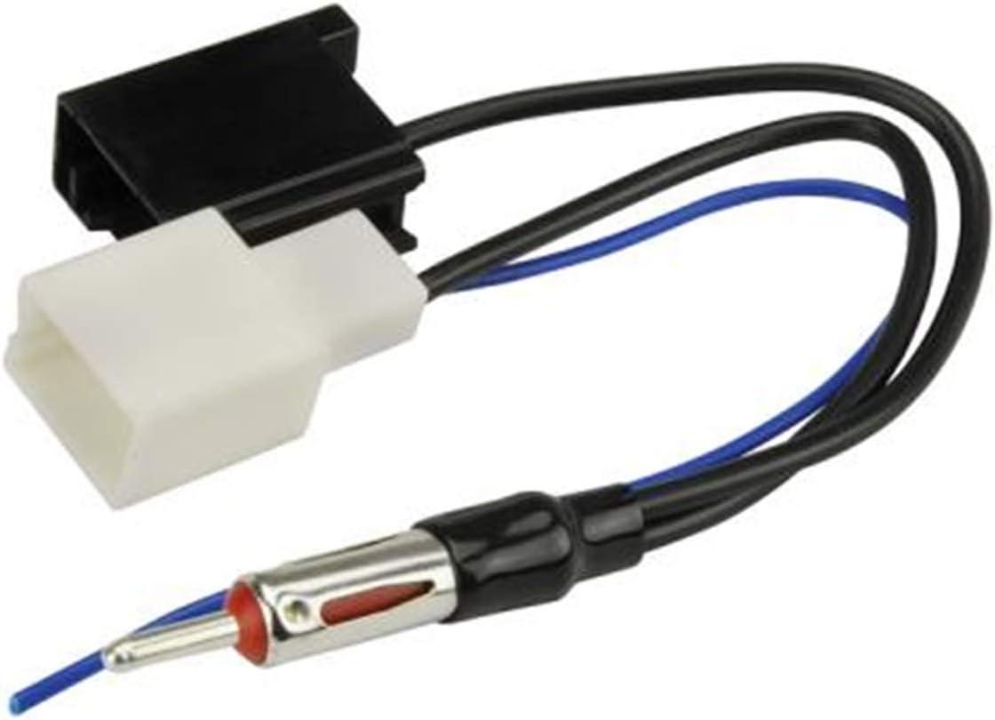 Scosche LSAAB Antenna Adapter for 2002-Up Dual Lexus,BLACK