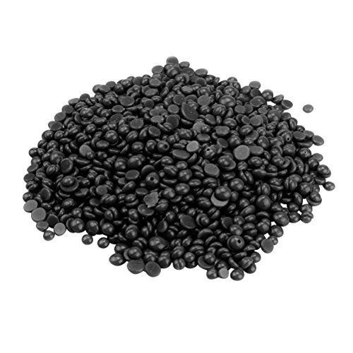ROSENICE Hard Wax Beans Leg Hair Removal No Strips Depilatory Pearl Painless Hair Removal 400g (Black)