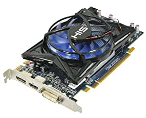 HIS Radeon HD 6750 1 GB (128bit) GDDR5 Eyefinity DisplayPort DL-DVI (HDCP) HDMI PCIe X16 2.1 Video Card H675F1GD