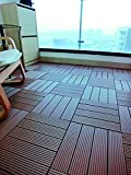 12 x 12 Eco-Friendly Wood-Plastic Composite