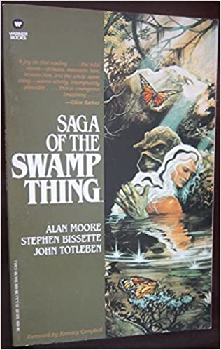 Saga Of The Swamp Thing By Alan Moore 1987 09 01 Alan Moore