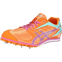 ASICS Women's Hyper LD 5 Track Shoes (Mango/Rose/Mint)
