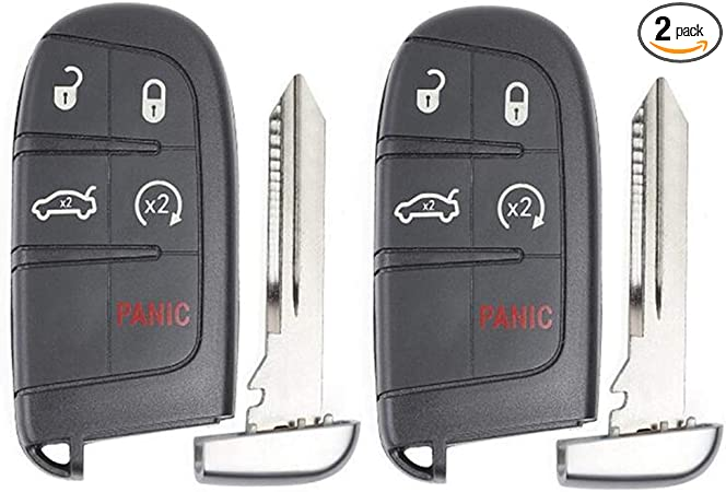Replacement Smart Remote Key Fob 4B for Chrysler 200 300 2011-2018 M3N-40821302