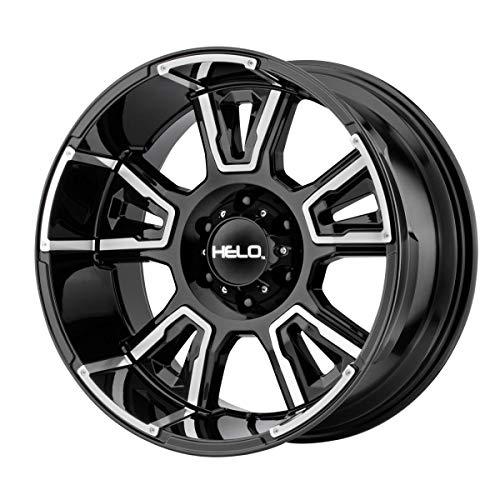 Helo HE914 20x10 6x139.7  -18mm Black/Machined Wheel Rim