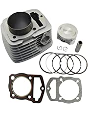 AHL Cylinder Head & Piston Kit & Gasket Set for Honda CRF230 2003-2014 / FTR223 FTR230 2003-2005