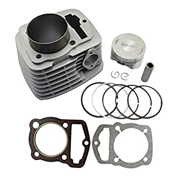 Image of AHL Cylinder Head and Piston Kit and Gasket Set for Honda CRF230 2003-2014 / FTR223 FTR230 2003-2005