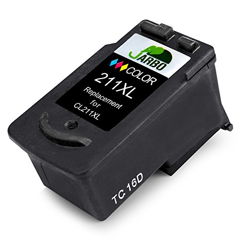 JARBO Remanufactured Ink Cartridges Replacement for PG-210XL CL-211XL High Yield, 1 Black,1 Tri-color, Used in PIXMA MP495 IP2700 MP490 MP480 MP280 MX330 MX340 XM410 MX420 MX350 Printer Photo #4