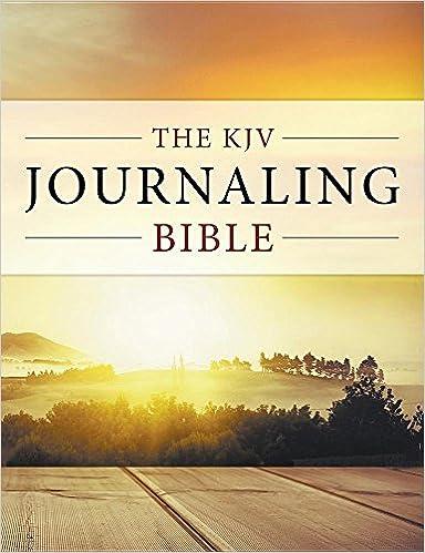 The KJV Journaling Bible: One True Faith: 9781682804834: Amazon com