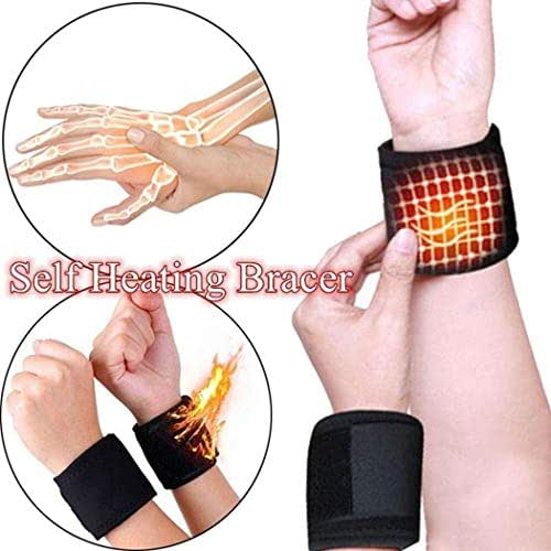 Hotstype New Unisex Men Women Health Care Band Wristband Heating Band Hand & Wrist Braces