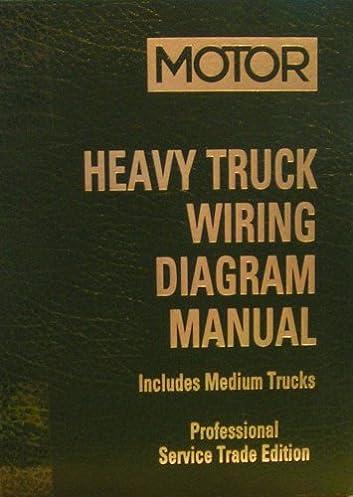 motor heavy truck wiring diagram manual, includes medium trucks Mitchell On Demand Wiring Diagrams