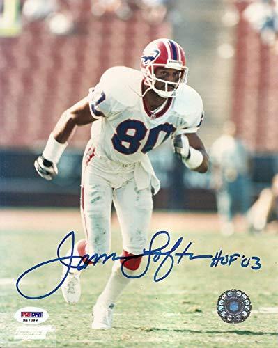 (James Lofton Bills Raiders Autographed Signed Signature 8x10 Photo Memorabilia - PSA/DNA Authentic)