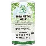 Grass Fed rBGH Free Whey Protein by Natural Nutra — Gluten Free, Non-GMO, Vanilla, 16.5 Oz.