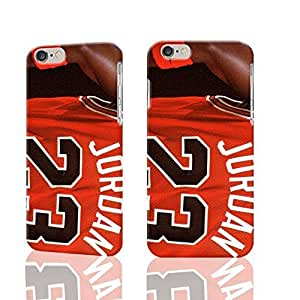 Michael Jordan Pattern Hard Durable 3D Cover Rough Skin Case for Apple iPhone 6 - 4.7