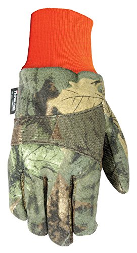 Wells Lamont 717XL 100 g Thinsulate, Polyester/Cotton Blend, Men's Winter Jersey Gloves, X-Large, Camouflage ()