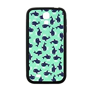 Little Whales Turquoise Navy Case for Samsung Galaxy S4