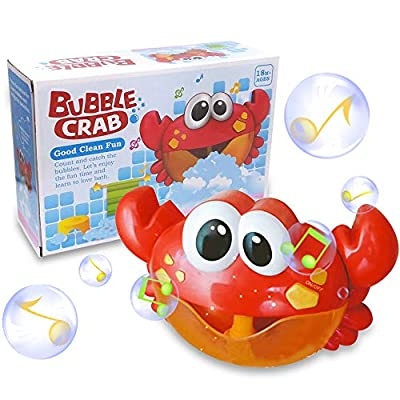 ZHENDUO Baby Bath Bubble Toy Bubble Crab Bubble Blower Bubble Machine Bubble Maker with Nursery Rhyme Bathtub Bubble Toys for Infant Baby Children Kids Happy Tub Time by FYKM that we recomend individually.