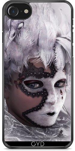 Coque pour Iphone 7 / Iphone 8 (4,7 '') - Le Masque by Illu-Pic.-A.T.Art