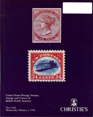 United States Postage Stamps, Stamps and Covers of British North America (Stamp Auction Catalog) (Christie