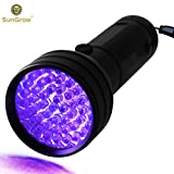 UV Flashlight for Pet Urine - Handheld Blacklight for Bed Bugs, Scorpion Hunter – Spots Invisible Stains - 51 LED up to 395nM – Durable Aluminium Alloy Material – Multifunctional Practical Tool