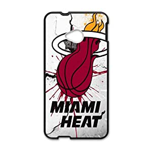 Miami Heat NBA Black Phone Case for HTC One M7