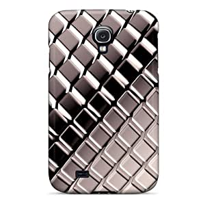 Bumper Hard Phone Covers For Samsung Galaxy S4 With Custom Trendy Iphone Wallpaper Pattern JonathanMaedel