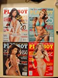 2006 complete year of Playboy, 12 issues. Jessica Alba, Adrianne Curry, Cindy Margolis, Vida Guerra, Kara Monaco, Candice Michelle, Lisa Guerrero, covers