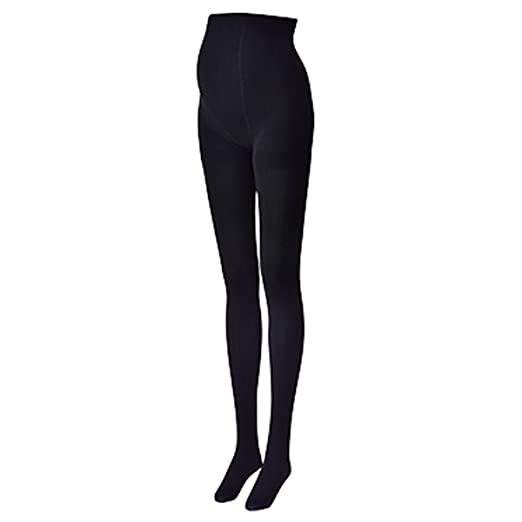 a045ba63d8c11 Inujirushi Honpo Maternity Pregnancy Fleece-lined Warm Tights 160D PS6294,  Black M-L