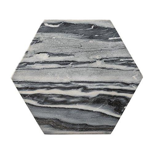 Bloomingville-Marble-Hexagon-Cutting-Board