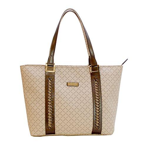 La Tour Eiffel Paris Classic Design Collection Tote Bag (Beige) (Tour Eiffel Bags)