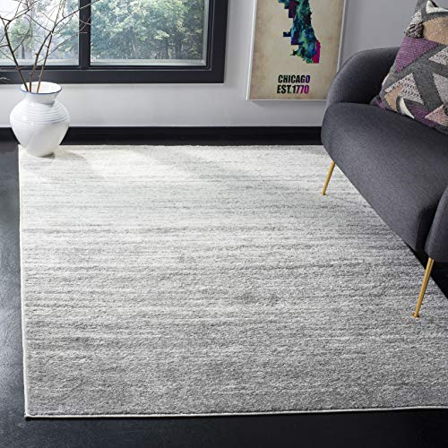 (Safavieh Adirondack Collection ADR113B Ivory and Silver Modern Abstract Area Rug (8' x 10'))