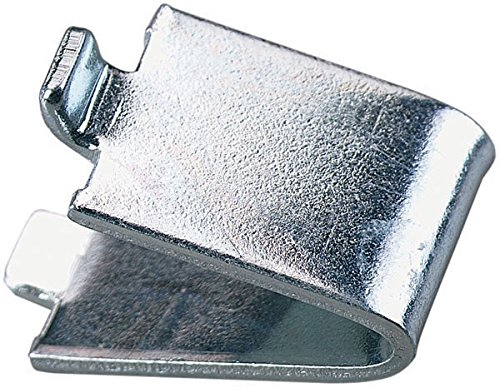 Zinc Plated Solid (20 Knape Vogt, 239, Heavy Duty, Pilaster Clips, Steel, Zinc Plated, For Solid Shelf)