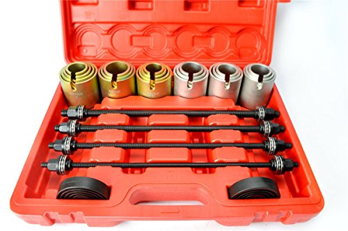 8milelake 26pc Universal Press and Pull Sleeve Kit For the removal and installation of bushes bearings and seals by 8MILELAKE (Image #1)