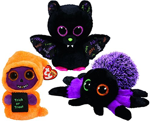 Beanie Boos TY Halloween 2018 Bundle 2 Teeny Tys Trick Treat 4 inch  Stackable Toys FVG ... f6c2e1f5a668