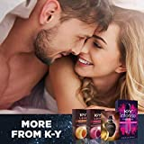 Lubricant for Him and Her, K-Y Yours & Mine Couples Lubricant, 3 fl oz, Couples Personal Lubricant and Intimate Gel, Sex Lube for Women, Men and Couples, Clear