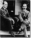 Wilbur and Orville Wright Brothers Portrait 8x10 Silver Halide Photo Print