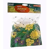 Silva 6046486 Fliegenfalle Outdoor fängt Fliegen Outdoor mit natürlichen Inhaltsstoffen hoch effektiv wird draußen eingesetzt & sorgt draußen wie drinnen für Ruhe