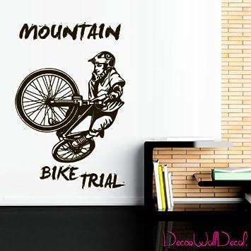 Amazon com: Wall Decal BMX Rider Sticker Bike Bicycle X Games Racing