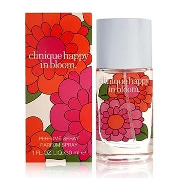 fa2d767e6 Amazon.com : Happy in Bloom by Clinique for Women 1.0 oz Perfume Spray :  Eau De Parfums : Beauty
