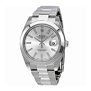 Rolex Datejust 41 Silver Dial Stainless Steel Automatic Mens Watch 126300SSO