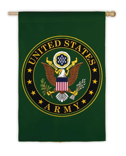 U S Army Vertical House Flag product image