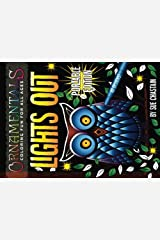 OrnaMENTALs Lights Out Portable Edition: 40 Smaller Lighthearted Designs to Color with Dramatic Black Backgrounds (Volume 7) Paperback