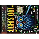 OrnaMENTALs Lights Out Portable Edition: 40 Smaller Lighthearted Designs to Color with Dramatic Black Backgrounds (Volume 7)